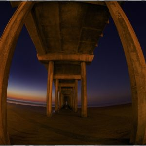 Scripps Pier with Peter