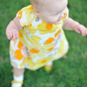 More Adorable Darla in Yellow Summer Dress