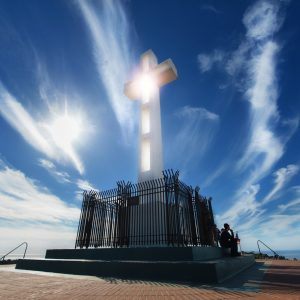 Beautiful Picture of the La Jolla Cross