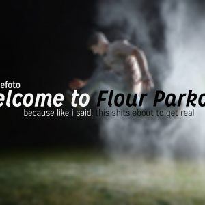 Parkour and Flour with Lights