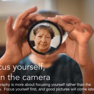 For better pictures. Focus yourself first, then the Camera