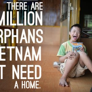How many orphans in Vietnam? There are 1.5 Million.