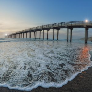 Scripps Pier La Jolla is great location for Surf Gear Photography