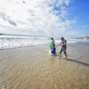 Scripps La Jolla is Best Place for Family Beach Portraits