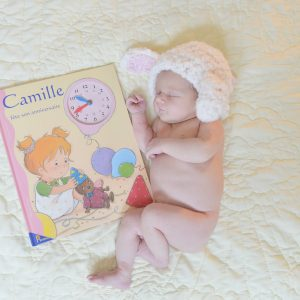 Oh, Hello Baby Camille. You are just in time.