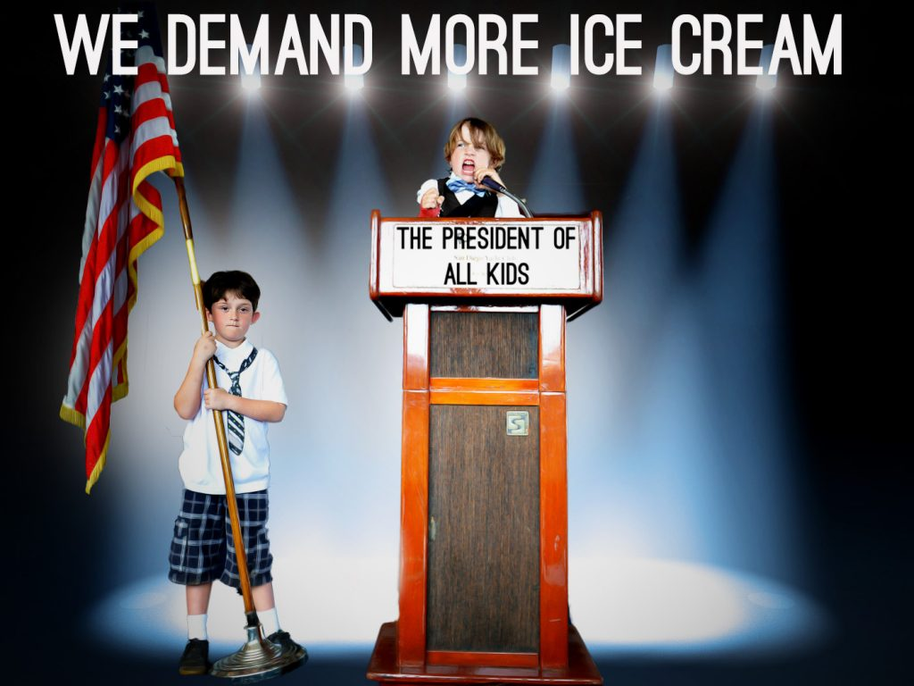 we demand more ice cream