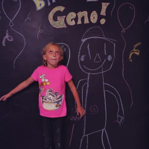 Geno's Birthday Photo Booth