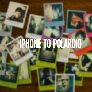 InstantLab – Transferring Iphone Photos to Polaroids
