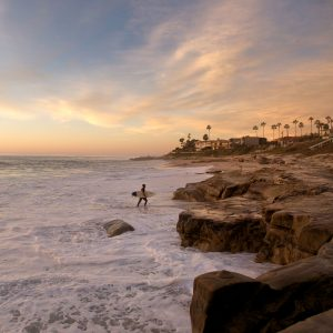 La Jolla Surfer Proves Why It's Awesome to Live in La Jolla (and surf)