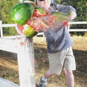The Man with Raging Hatred of Watermelons