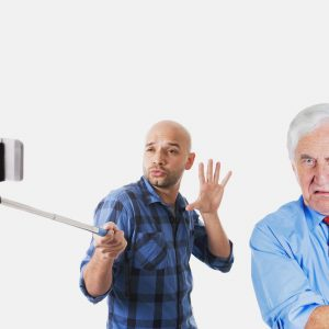 Tired of Selfies?  Then You'll Love Selfie Stick 2.0.