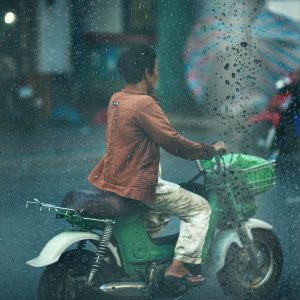 Rainy Day Motorcycle