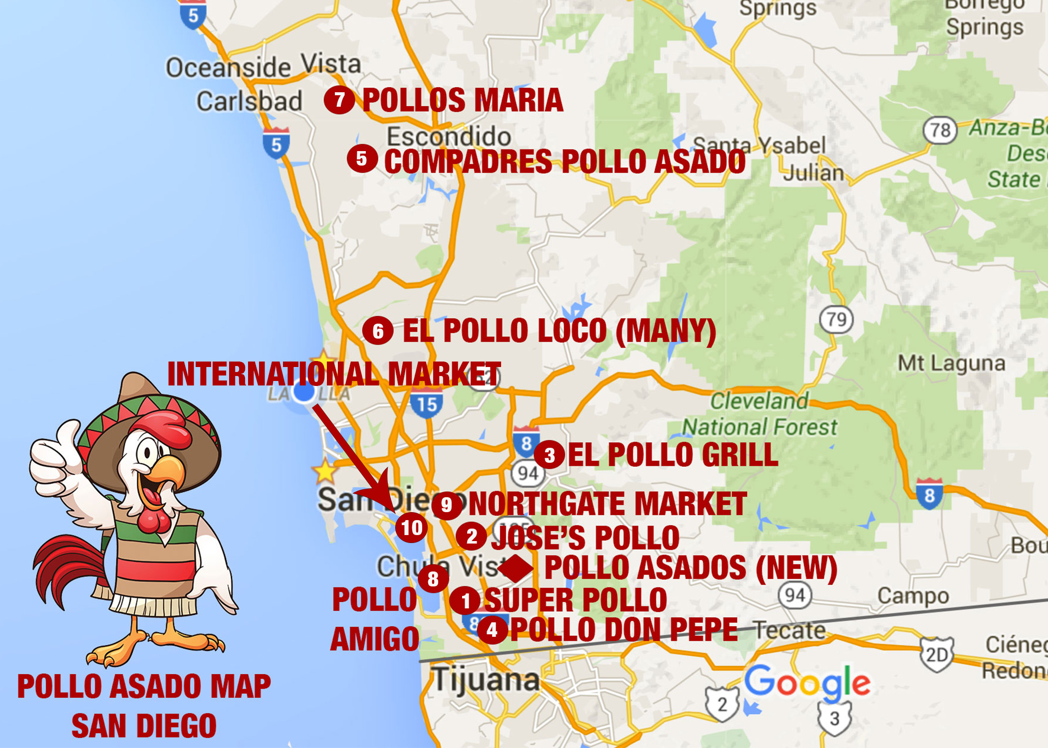 MAP-OF-POLLO-SAN-DIEGO