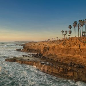 A Walk at the Sunset Cliffs