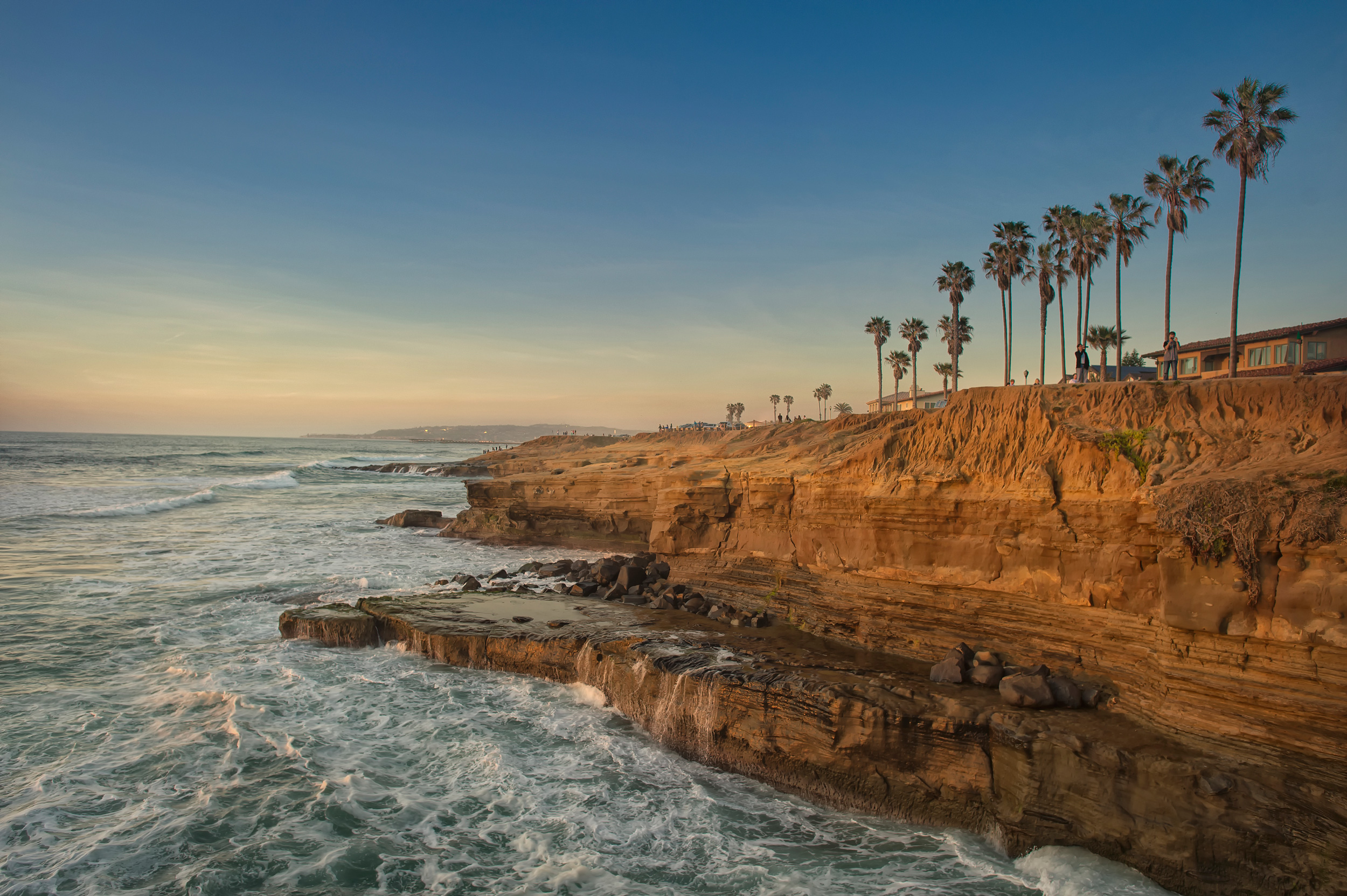 Sunset Cliffs Natural Park San Diego Ca  United States