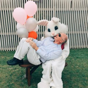 An Awkward Moment with the Easter Bunny