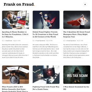 Frank on Fraud
