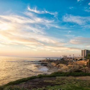 Picture Perfect Skies Over La Jolla