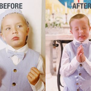 Before and After Baptism